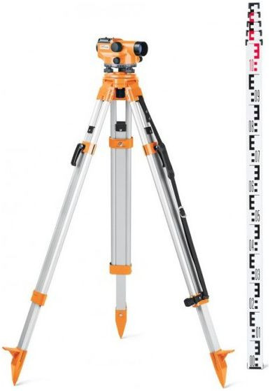 RENT optical level FAL-24 SET, tripod, rod. cnt. 7.00 €