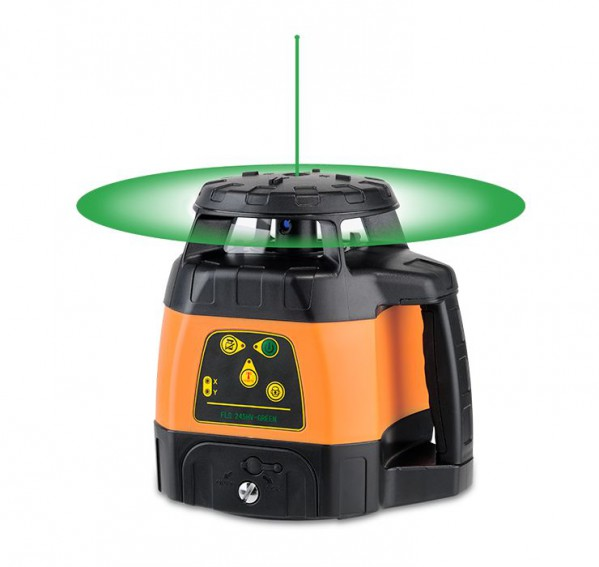 Green rotating laser FL 245HV-Green with FRG45-Green receiver. cnt. 1150.00 €