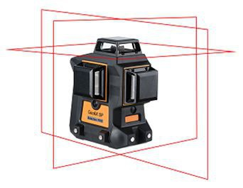 Geo6X SP - 3 x 360° red lines 3D laser levels. cnt. 470.00 €