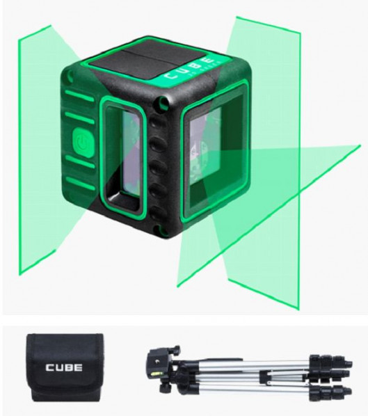 Лазерный нивелир ADA CUBE 3D GREEN Professional Edition Kit. шт. 168.00 €