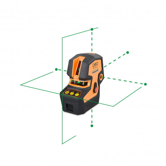 PROMOTION! Point/line green laser level CrossPointer5 GREEN SP. CALIBRATED!. cnt. 365.00 €