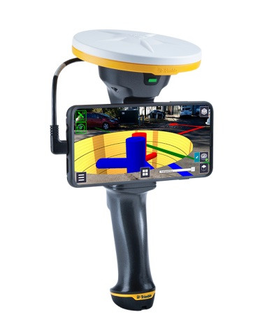 Augmented reality instrument Trimble SiteVision. cnt. 0.00 €