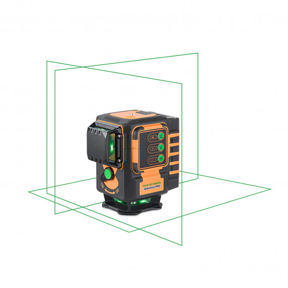 SELLOUT!  Geo6-XR GREEN SP green beam 3 x 360 projection laser kit. KALIBRATED!. cnt. 440.00 €