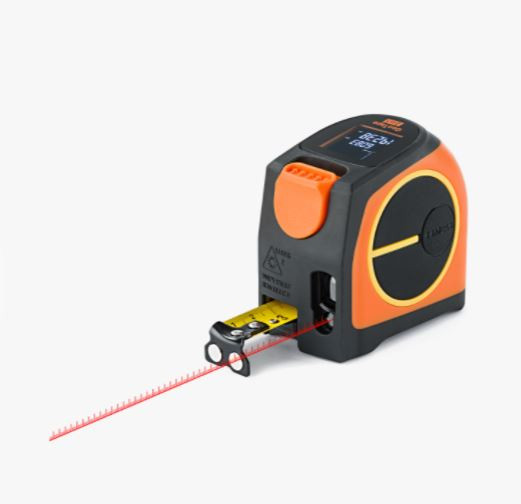 GeoTape 2in1 - 20 m laser rangefinder with 5 m measuring tape. cnt. 49.00 €
