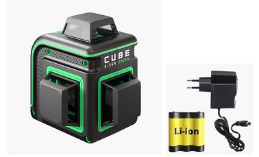 SOODUS! Laser level ADA CUBE 3-360 GREEN Basic Edition. CALIBRATED!. tk. 265.00 €