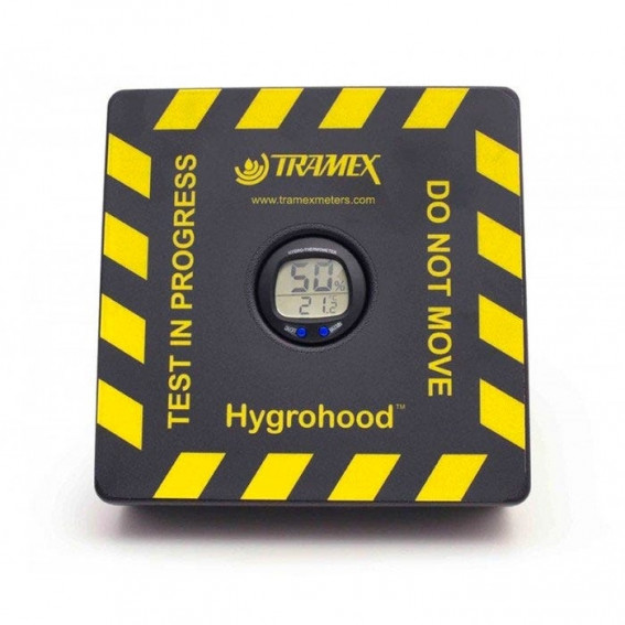 Moisture meter for concrete pavements TRAMEX Hygrohood, independent of concrete chemical composition. cnt. 199.00 €