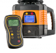 Rotation laser level FL 150H-G, grade laser, w/ receiver FR 77-MM. CALIBRATED!